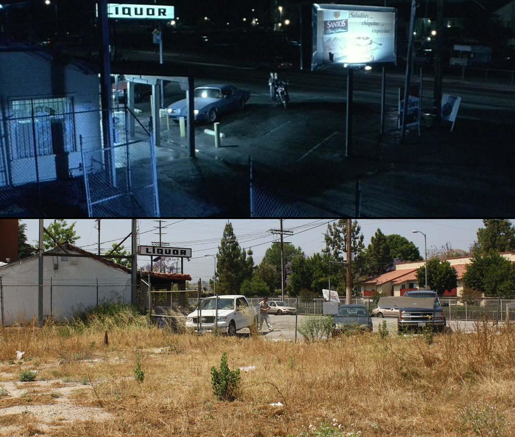 Terminator 2 judgment day t2 this pacoima liquor store for Location t2