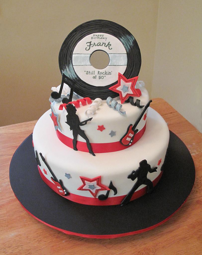Rock Birthday Cake Ideas