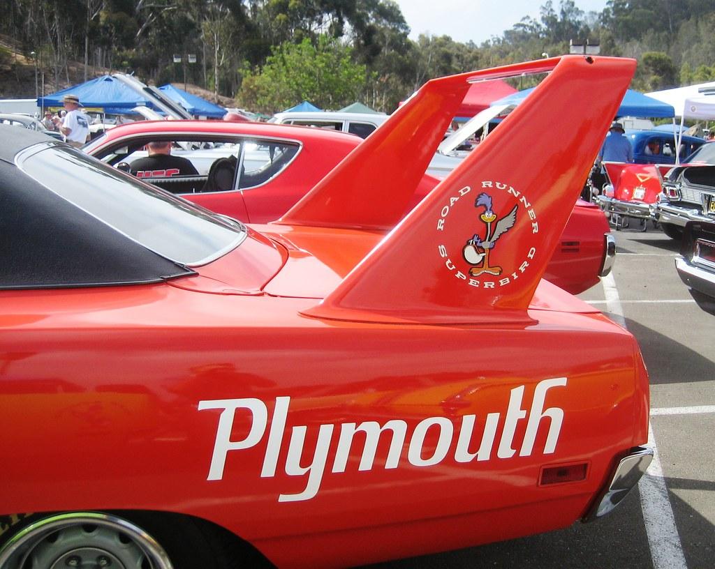 Plymouth Road Runner Superbird Spoiler 1970 Carlsbad