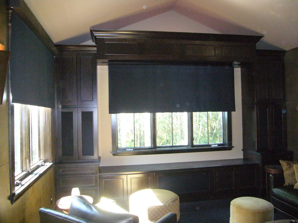 White Room Darkening Window Panels