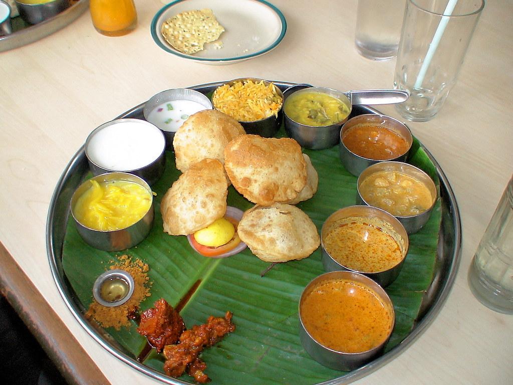 Lunch North Indian Thali | North Indian thali at Minerva ...