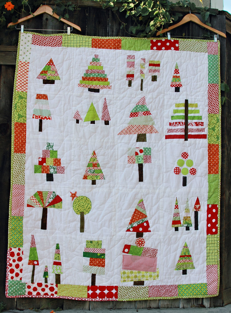 O Christmas Tree Quilt All Done Finally Just In Time