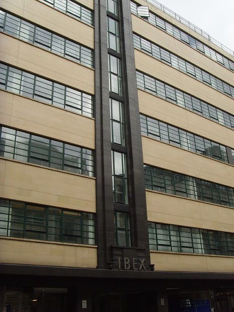 Ibex Building 1937 London Art Deco 42 7 Minories EC1