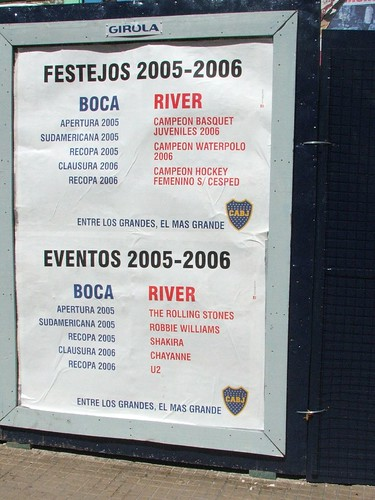 Boca taunting River | by Sam Kelly