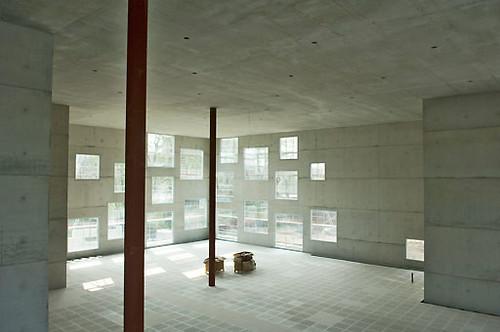 sanaa at baustelle der zollverein school of flickr. Black Bedroom Furniture Sets. Home Design Ideas