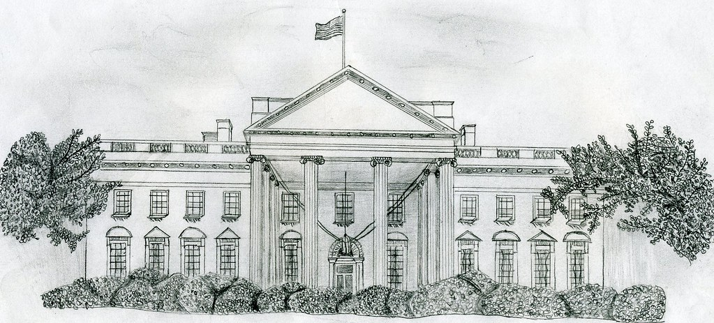 White House Drawing White House Drawing | by