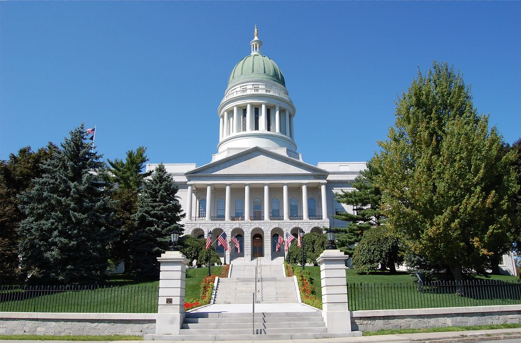 Augusta (ME) United States  city photos : State Capitol, Augusta, Maine ME | The Maine State House ...