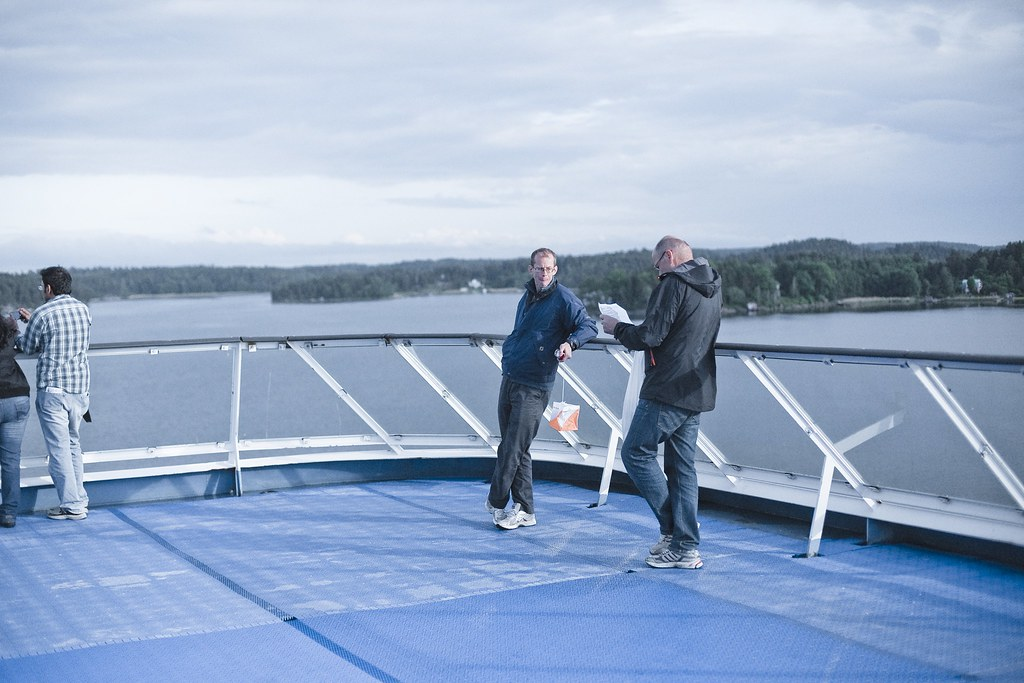 Orienteering on a ship