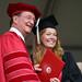President  Rush with  graduate