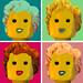 Marilyn - Warhol - Lego