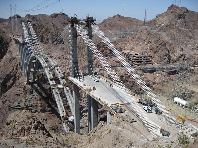 Hoover Dam Bridge Cons...