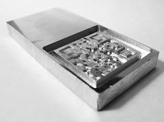 Mini QR waffle maker