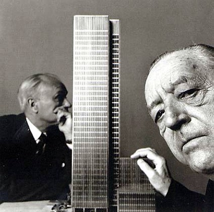 mies van der rohe a philip johnson s modelem seagram build flickr. Black Bedroom Furniture Sets. Home Design Ideas