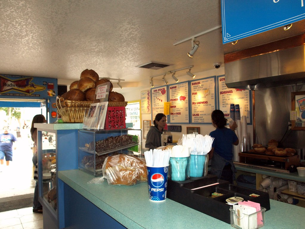 Splash Cafe In Pismo Beach California