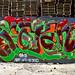 """Roten SKA B.A.D. """"Rott with the dead"""" LosAngeles graffiti Art"""