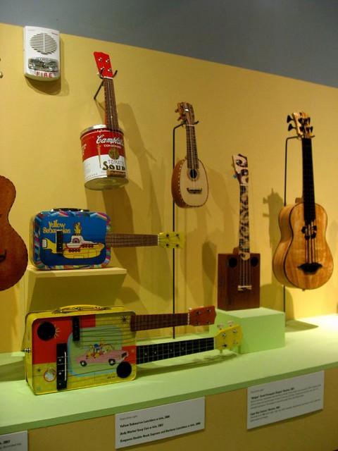 Museum of craft and folk art unusual ukuleles e t for Craft and folk art museum