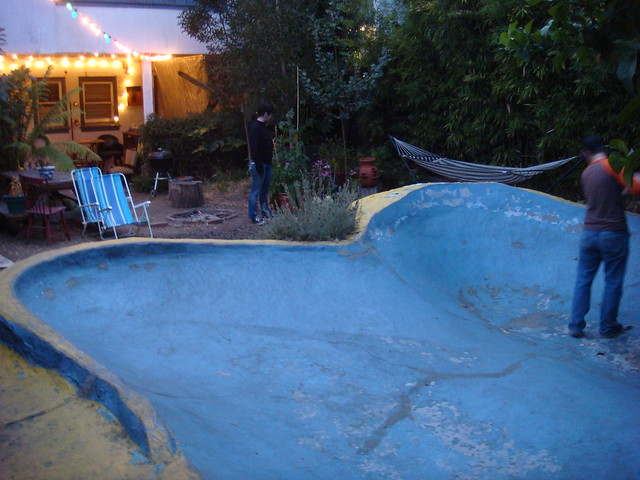 Backyard mini pool flickr photo sharing for Mississippi wind pool