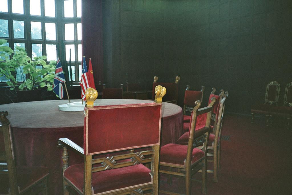 Il tavolo della conferenza di potsdam qui sedettero stalin flickr - Il tavolo della roulette ...