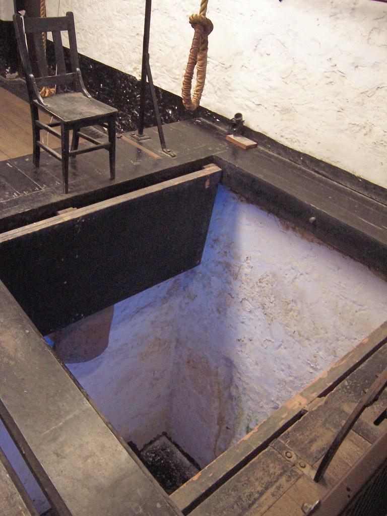 The Long Drop Fremantle Prison This Gallows Flickr