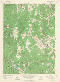 Marlborough Quadrangle 1953 - USGS Topographic Map 1:24,000 | by uconnlibrariesmagic