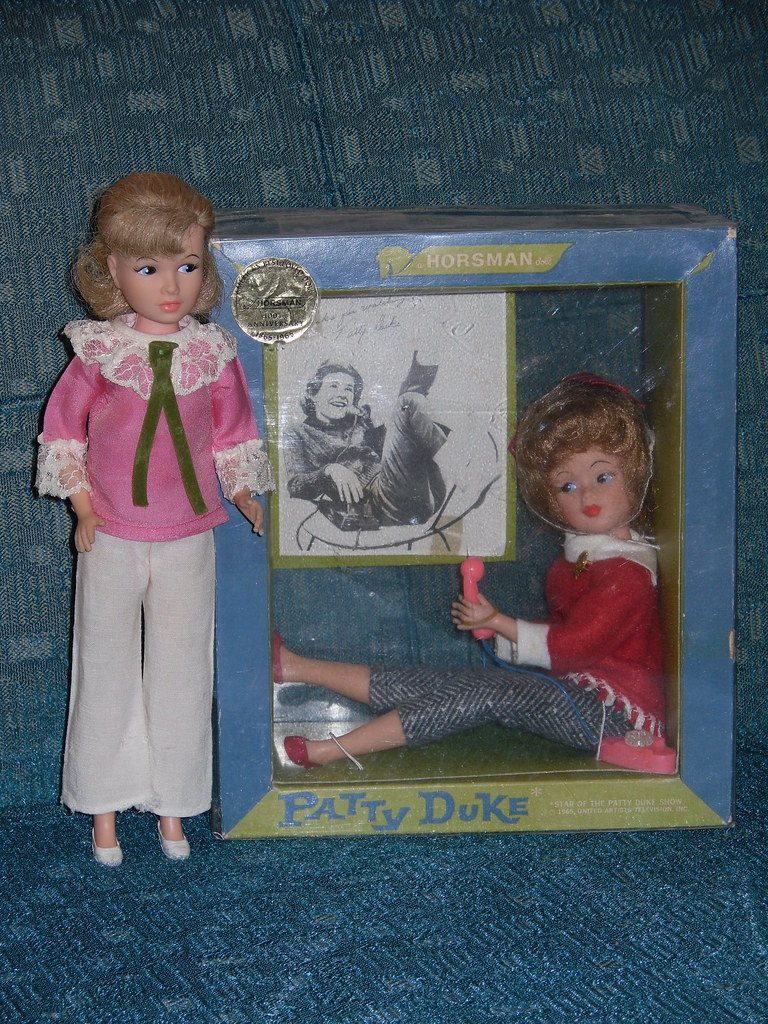 Patty Duke The Boxed Doll Is The 1965 Verson Of Patty