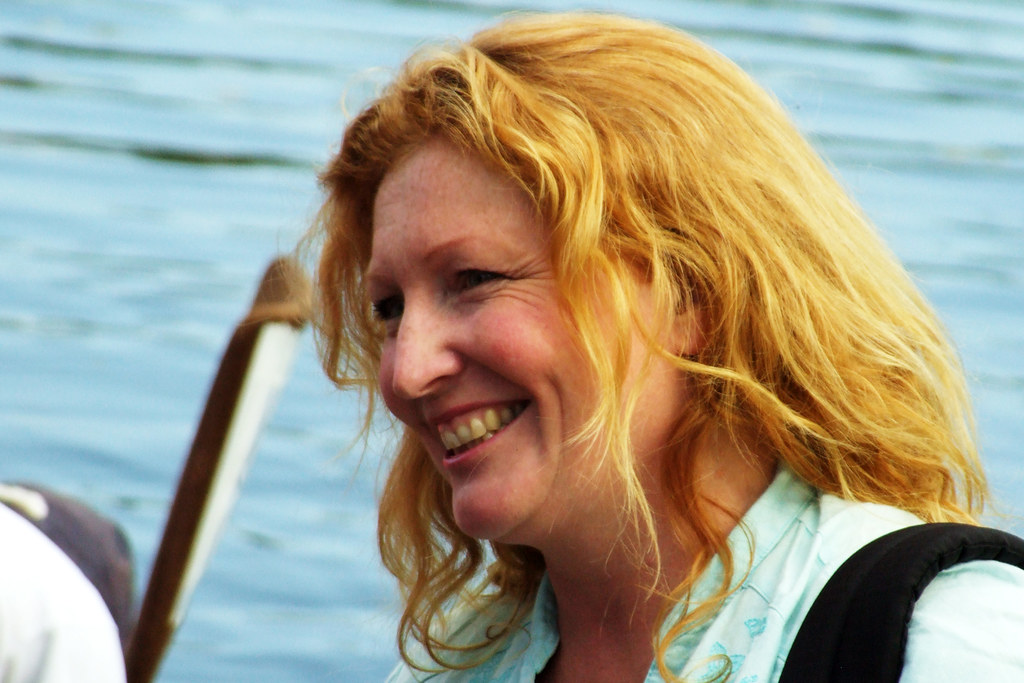 Sink Or Swim Charlie Dimmock At The Launch Of The 2007
