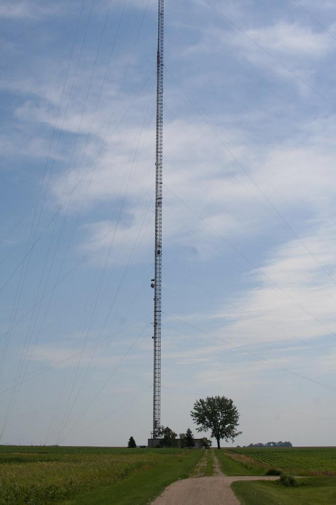 second highest structure in the americas kxjb tv mast c flickr. Black Bedroom Furniture Sets. Home Design Ideas