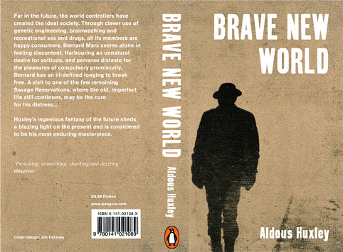 a book review of brave new world Huxley's book was his way of jabbing his finger at hg wells's speculations i  recognize comparing brave new world to 1984 is hardly a novel.