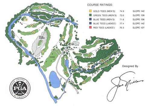 Valhalla Golf Club Scorecard Valhalla Golf Club