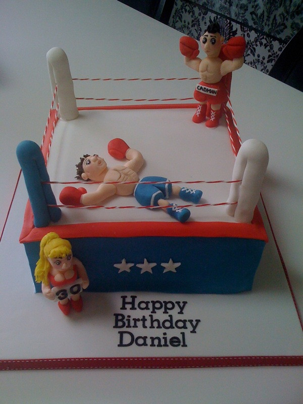 Boxing Ring Cake Ideas