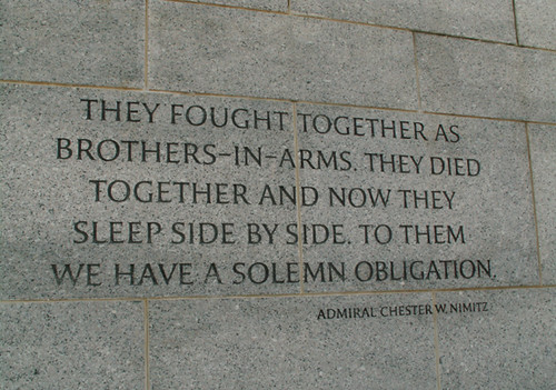 """""""They Fought Together As Brothers-in-arms..."""""""