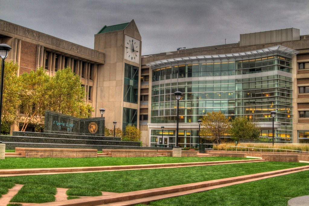 Cleveland State University - Courtyard | Flickr - Photo Sharing!