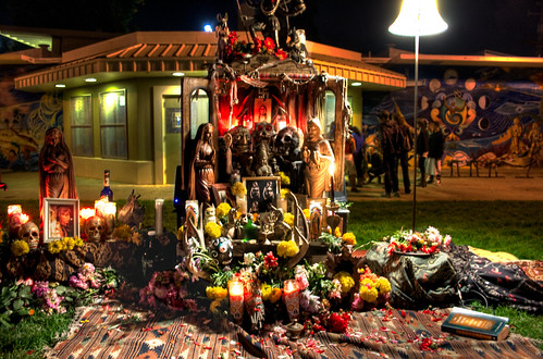 Native American Day of the Dead Shrine, Handheld HDR | by Walker Dukes