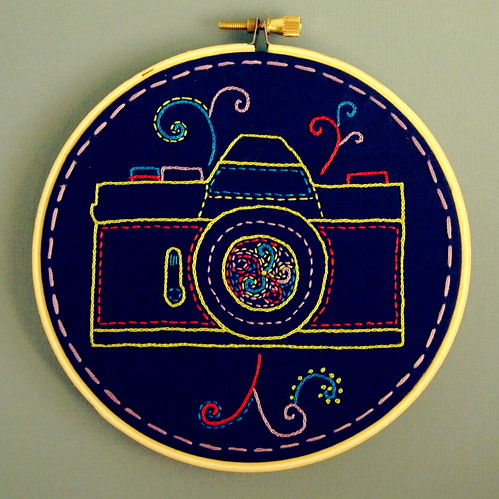 Camera Embroidery | by ktburrr
