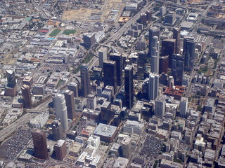 Aerial View Los Angeles Downtown | by Duncan Rawlinson - @thelastminute - Duncan.co