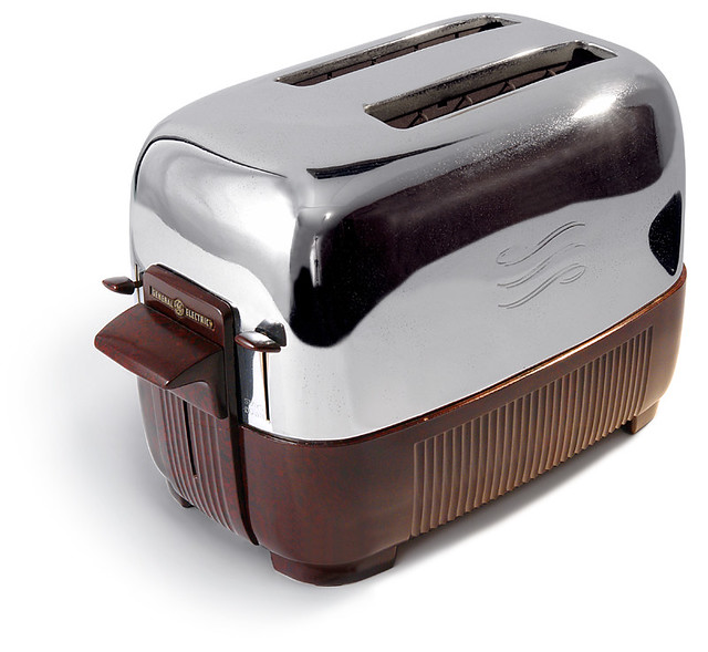 Electric Toasters From 1930 ~ Ge toaster model t c made in usa by general