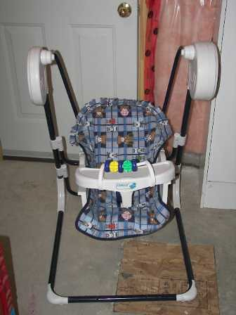 Sold Battery Operated Baby Swing Basic Battery Operated