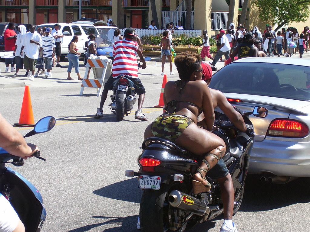 booty on a bike
