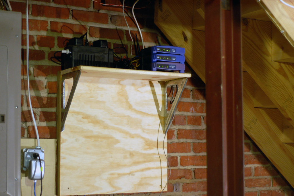 Network Hub | We finally moved all the network gear out of ...