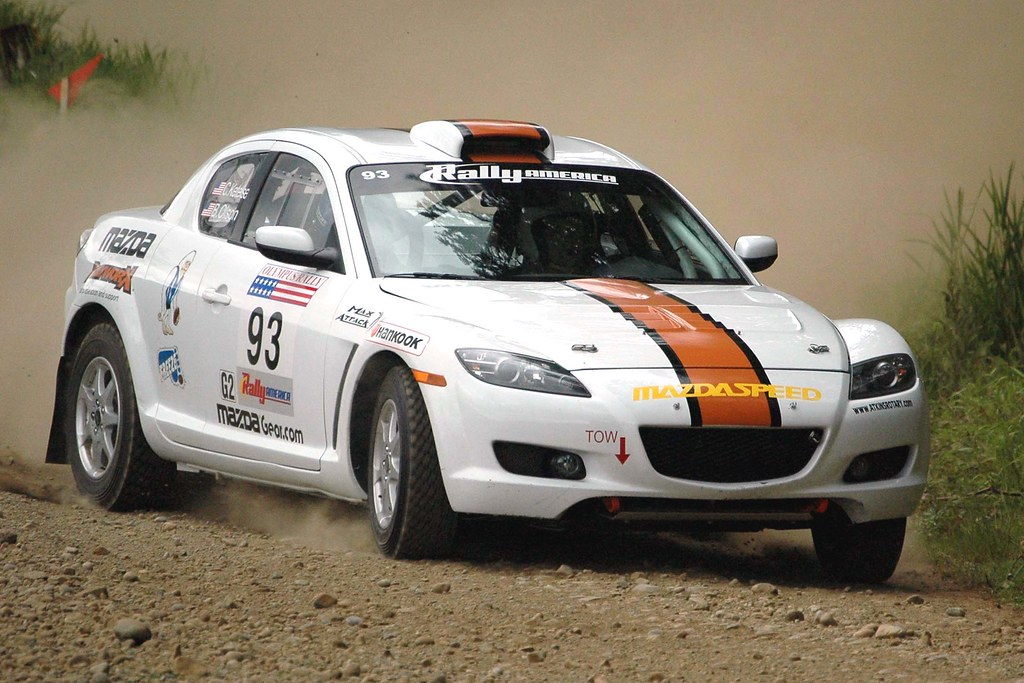 Rx 8 Rally Edition Robert Olson And Conrad Ketelsen