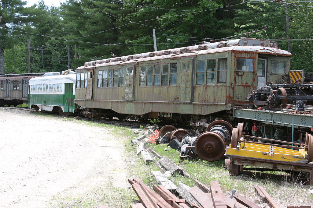 Seashore Trolley Museum Kennebunkport Maine Rene