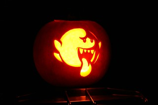 Mario Bros Boo Pumpkin | by spencer77