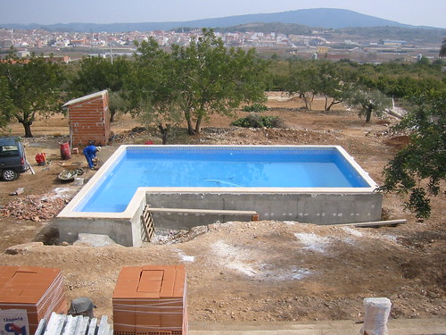 Cyprus swimming pool construction cyprus swimming pool - Cinder block swimming pool construction ...