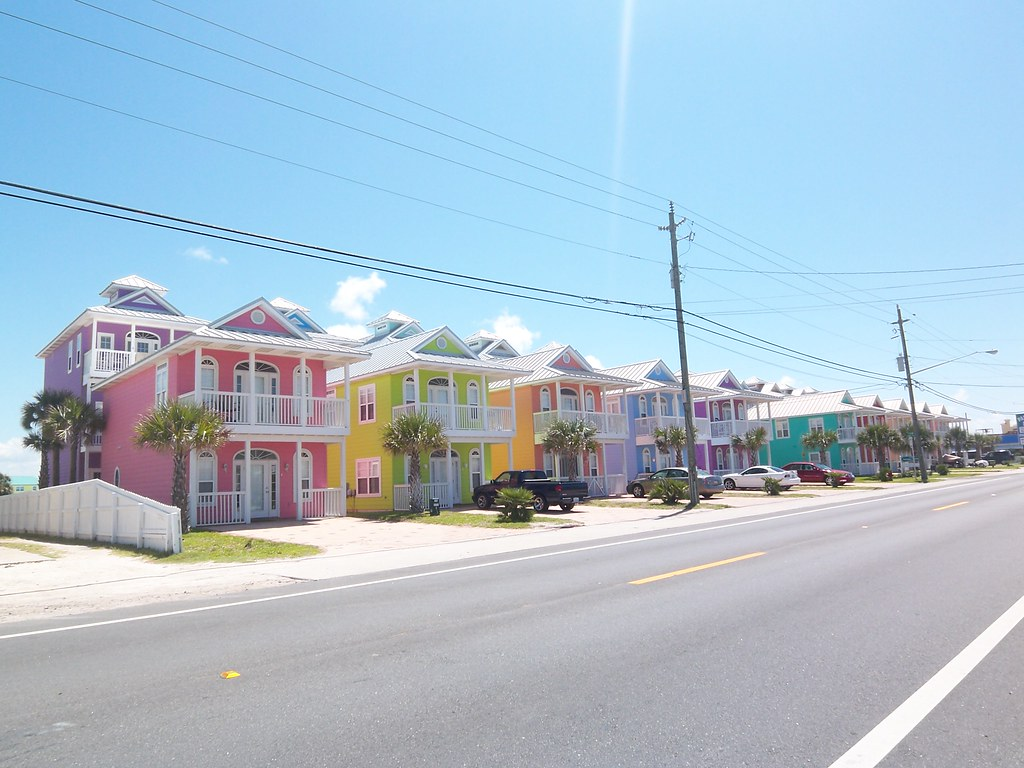 colorful beach houses look at these beach houses at