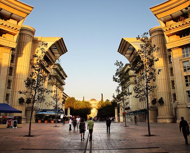 Montpellier Antigone District The Antigone District Is