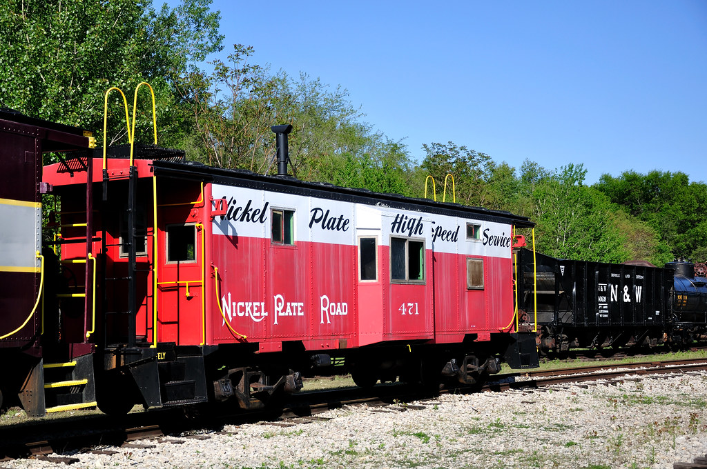 nickel plate road no 471 nickel plate road nkp caboose flickr. Black Bedroom Furniture Sets. Home Design Ideas