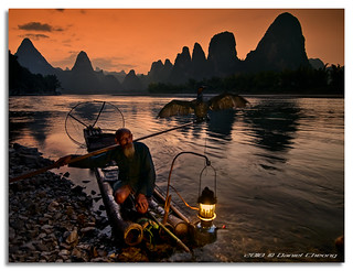 The Old Fisherman and his Cormorant [1] | by DanielKHC