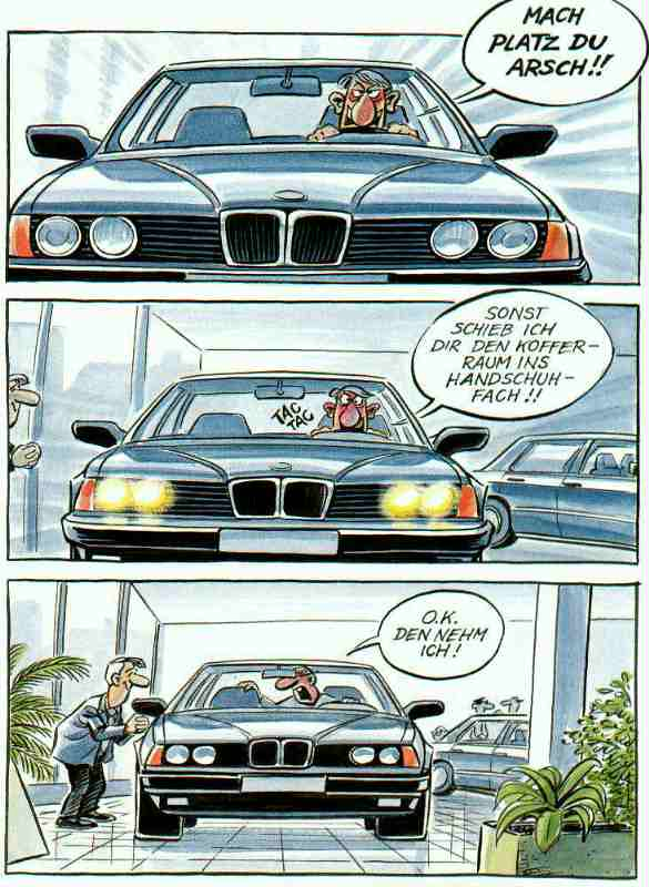 BMW-Cartoon   1988 and up 7 series BMW   Silvester Humaj   Flickr