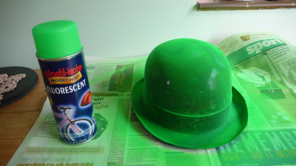 Fluorescent Lime Green Spray Paint
