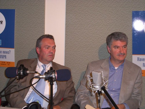 Jim Amann & Don Williams, July 31, 2007. | by WNPR - Connecticut Public Radio